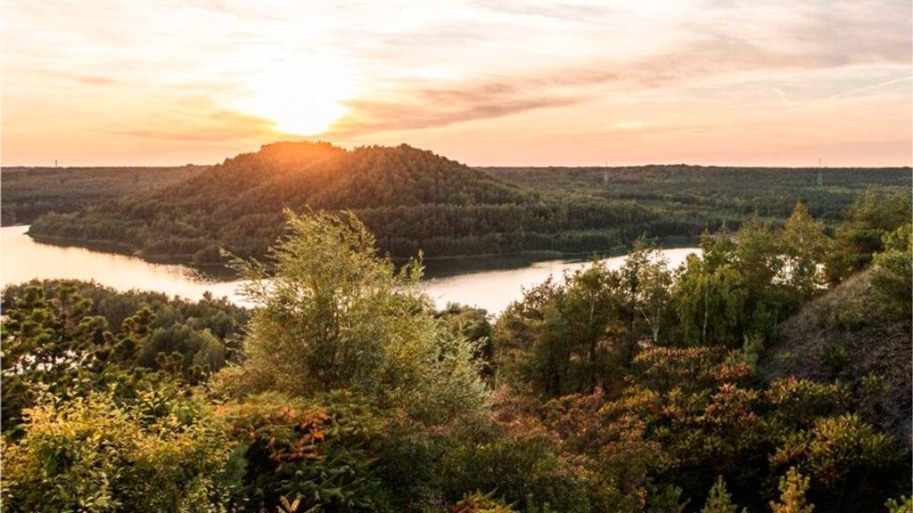 Nationaal Park Hoge Kempen, prachtig uitzicht vanuit Elaisa Energetic Wellness